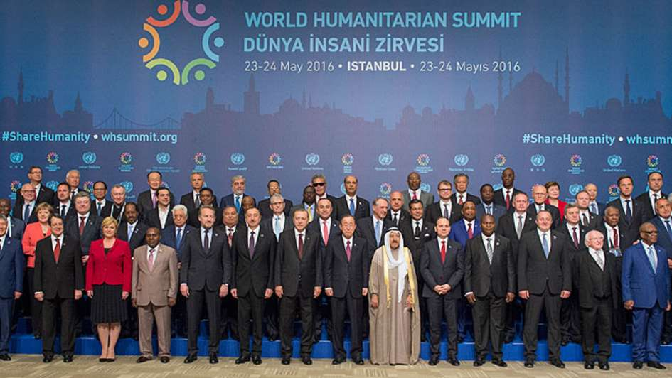 World Humanitarian Summit – WHS, 2016