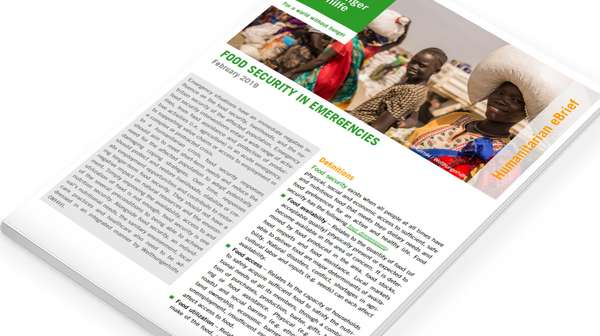 Humanitarian eBrief: Food Security in Emergencies