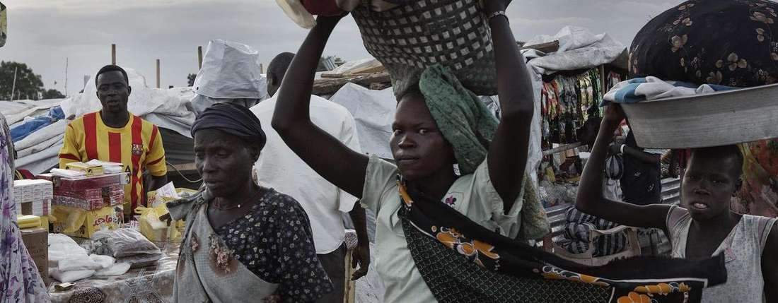 Konflikt und humanitaere Krise im Suedsudan Conflict and humanitarian crisis in South Sudan