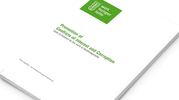 Cover: Code of Conduct - Prevention of Interest and Corruption