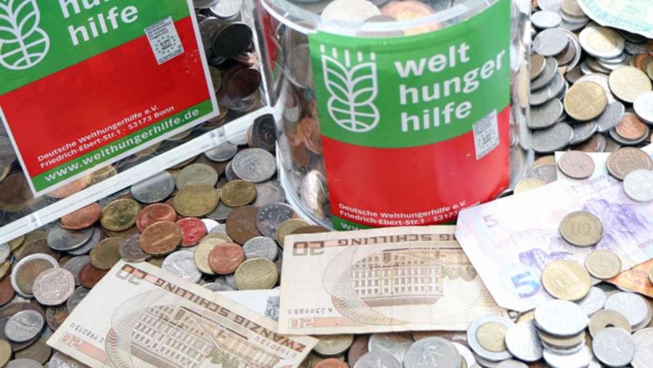 Restdevisen Spenden Welthungerhilfe