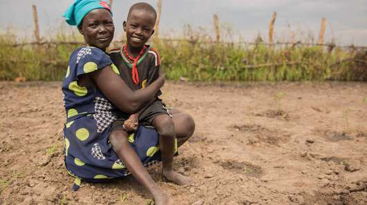 Suedsudan Ganyiel Welthungerhilfe, Ernaehrungssicherung Projekt South Sudan Welthungerhilfe Ganyiel Food Security and Nutrition Project